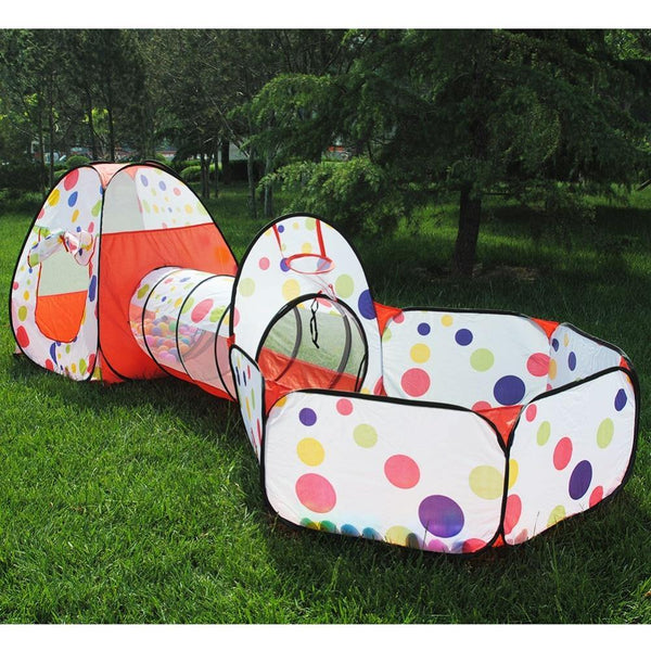 3Pcs/Set Foldable Children's Toys Tent For Ocean Balls Kids Play Ball Pool Outdoor Game Large Tent for Kids Children Ball Pit