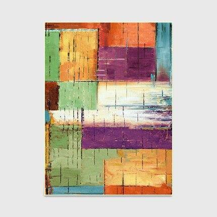 Abstract Watercolor Geometric Large Rugs and Carpets Living Room Floor Mat Coffee Table Sofa Bedroom Blanket Bedside Area Rugs