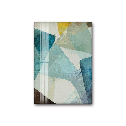 Abstract Photo Canvas Painting Green Poster and Print Living Room Bedroom Decoration Nordic Wall Art Home Decor Unframed Large