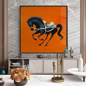 Dancing Horse Prints on Canvas - Fansee Australia