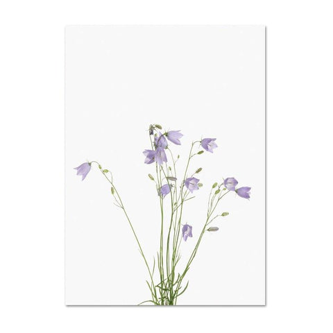 Botanical Art Print Modern Eucalyptus Minimalist Lavender Wall Canvas Painting Nordic Home Decor Wall Pictures for Living Room - Fansee Australia