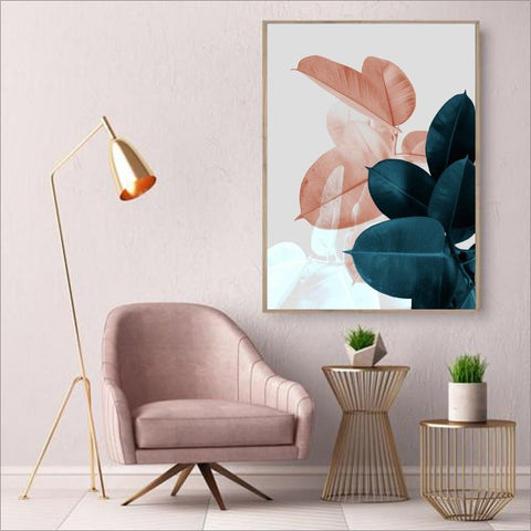 Botanical Wall Art Prints On Canvas - Fansee Australia
