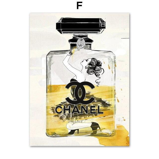 Chanel Paris Wall Art Canvas Prints - Fansee Australia
