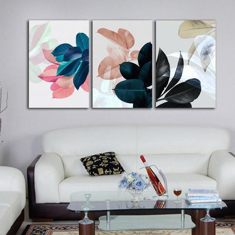 Colorful Floral Wall Art Prints - Fansee Australia