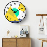 Colour Art Wall Clocks - Fansee Australia