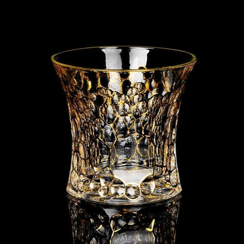 Crystal Whiskey Glasses - Queen (Whiskey Tumbler & Decanter Set) - Fansee Australia