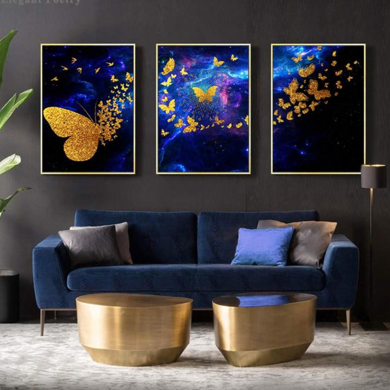 Dancing Butterfly Canvas Print - Fansee Australia