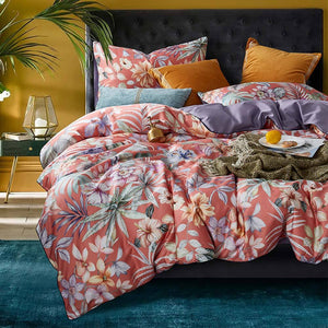 Designer Cotton Bed Sheet Set - Fansee Australia