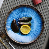 Dinner Plates - Helix Nebula Medium (23.8 cm 4 Piece Dinner Plate Set) - Fansee Australia