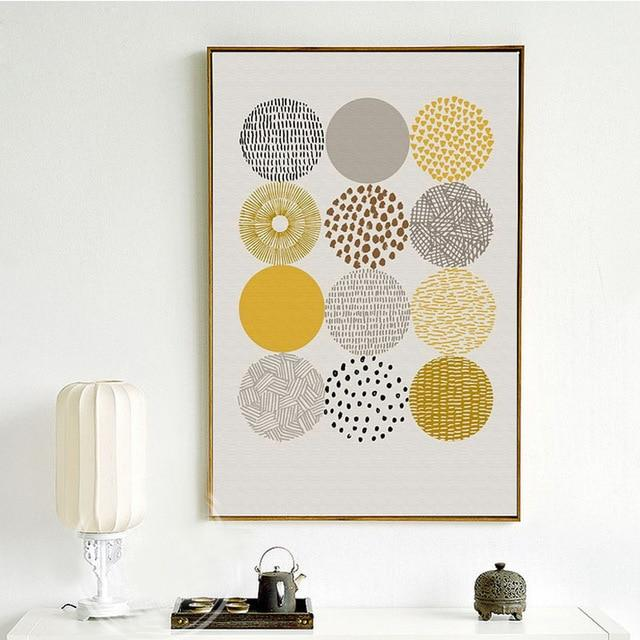 Geometric Canvas Wall Art Prints - Fansee Australia
