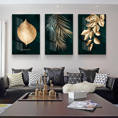 Golden and Black Wall Art Prints - Fansee Australia