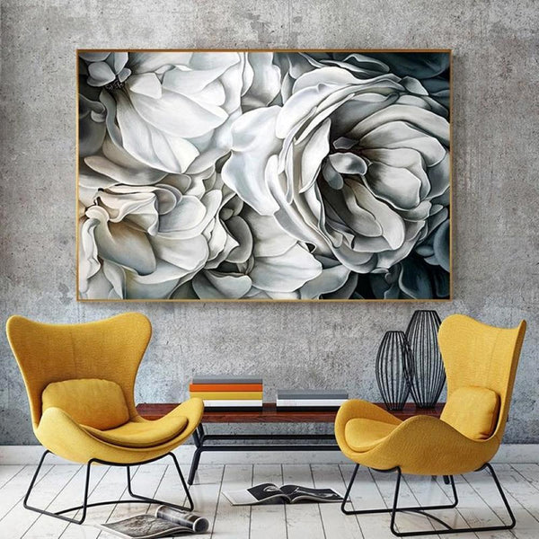 HD Floral Wall Art Print on Canvas (70 x 100 cm) - Fansee Australia