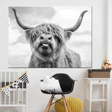 Highland Cow Canvas Prints - Fansee Australia