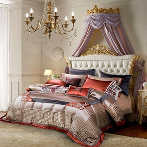 Jacquard Luxury Bed Linen Set - Fansee Australia