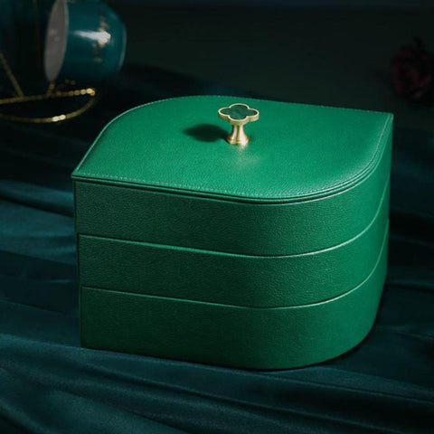 Jewellery Box - Leaf Green - Fansee Australia