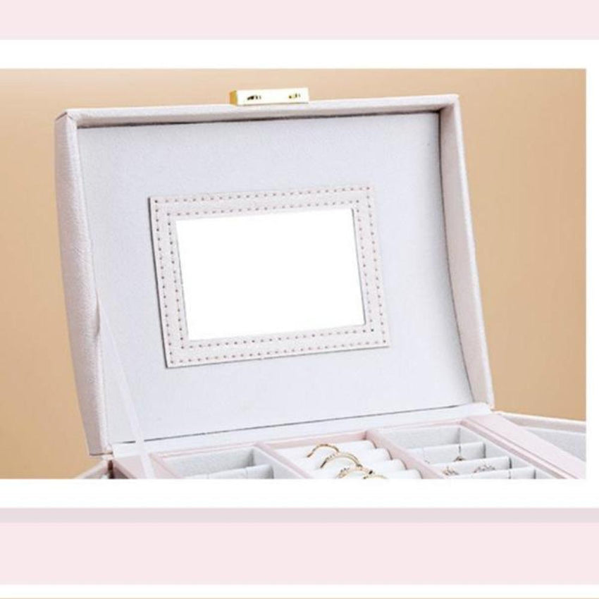 Jewellery Box with Mirror - Fansee Australia