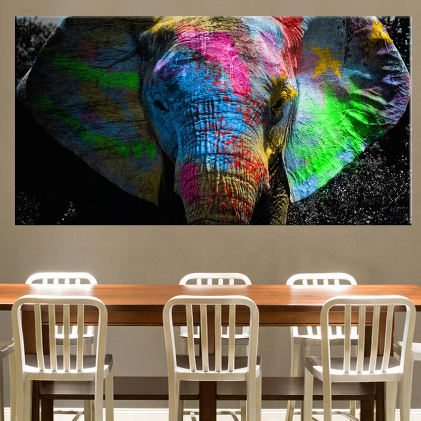 Majestic Elephant Canvas Print - Fansee Australia