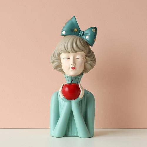 Moden Gorgeous Girl Resin Art Statue Gift Fairy Accessori Fashion Style Sculpture ornaments Home Decoration Tabletop figurines - Fansee Australia