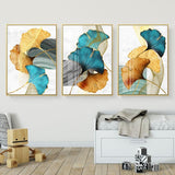 Modern Abstract Art Canvas Print - Set of 3 (60x80cm) - Fansee Australia