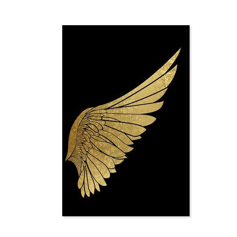 Abstract Wing Wall Art - Fansee Australia