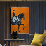 Horse Riding Wall Art Canvas Prints - Fansee Australia