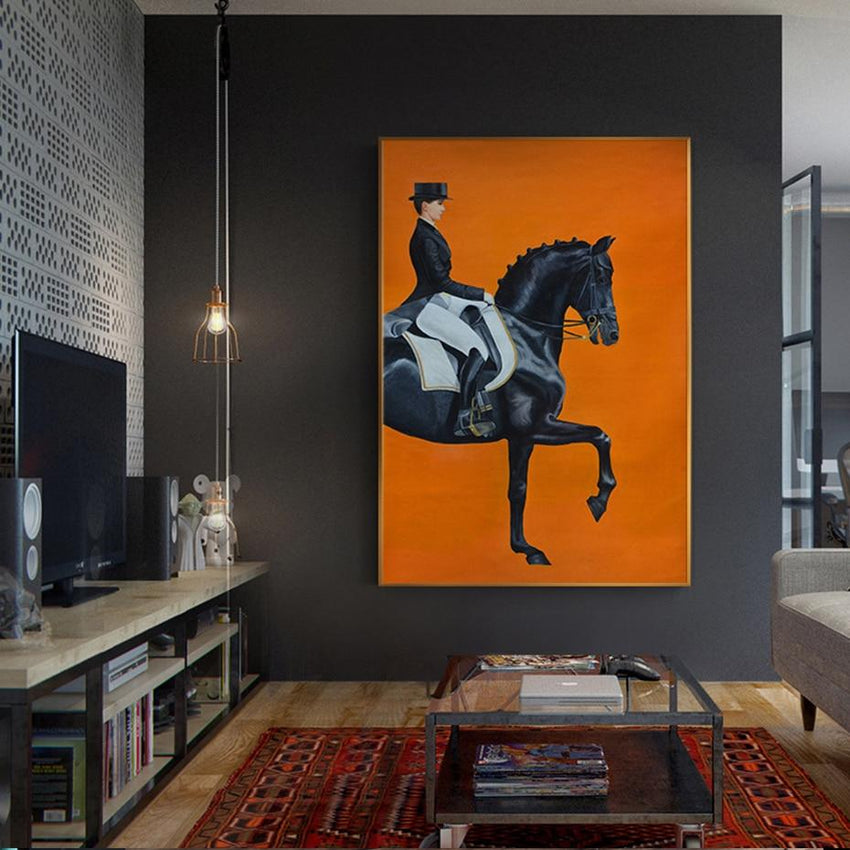 On Horseback Wall Art Prints - Fansee Australia