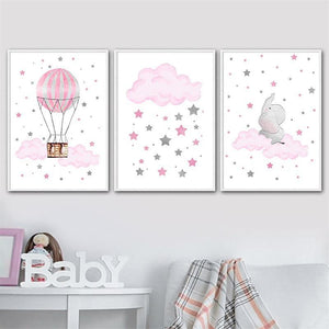 Pretty Star Kids Wall Art - Fansee Australia