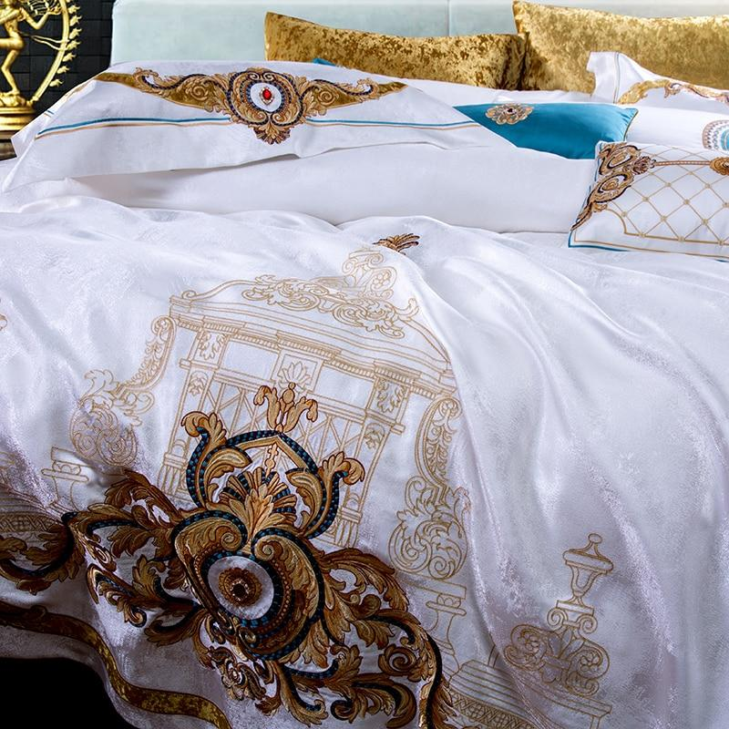Satin Cotton Lyxury Sheet and Sheet Cover Set - Fansee Australia