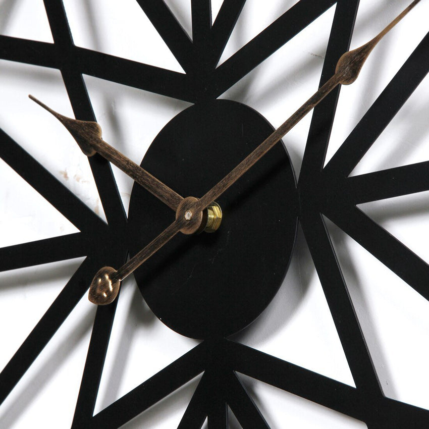 Wall Clock Large - Black - Fansee Australia