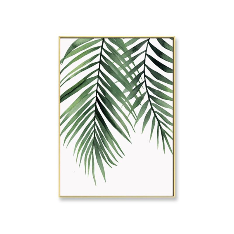 Watercolor Leaves Wall Art Canvas Prints (60x80cm) - Fansee Australia