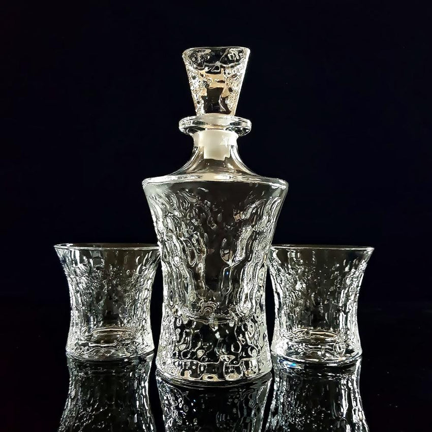 Whiskey Decanter and Tumblers Set (Cœur Pur - Reine) - Fansee Australia