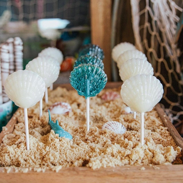 Mermaid Lollipops