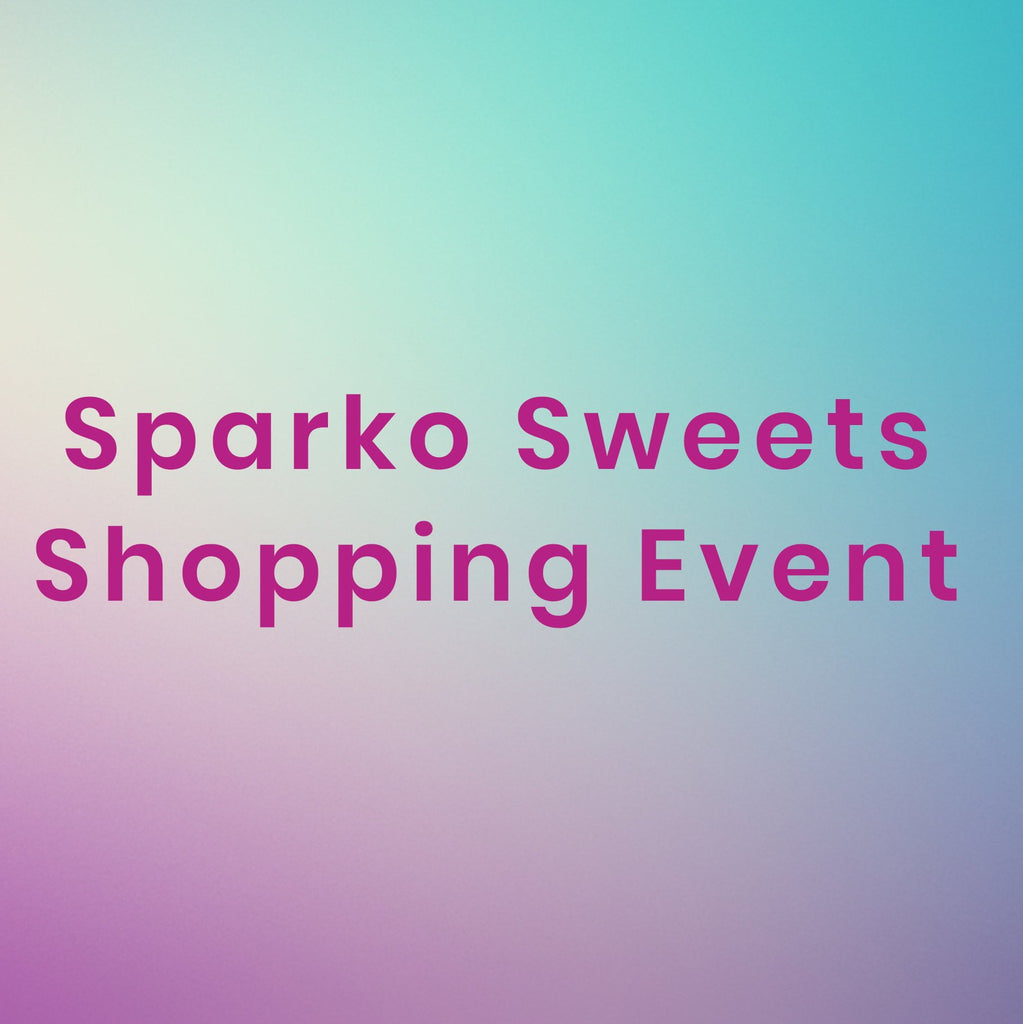 Sparko Sweets Shopping Event Sale