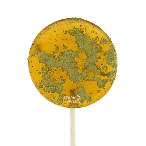 Organic Hemp Oil Lollipops Honey Matcha Lollipop