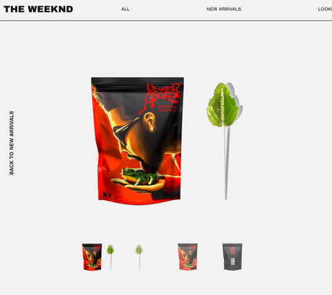 THE WEEKND AFTER HOURS Custom Lollipops by Sparko Sweets