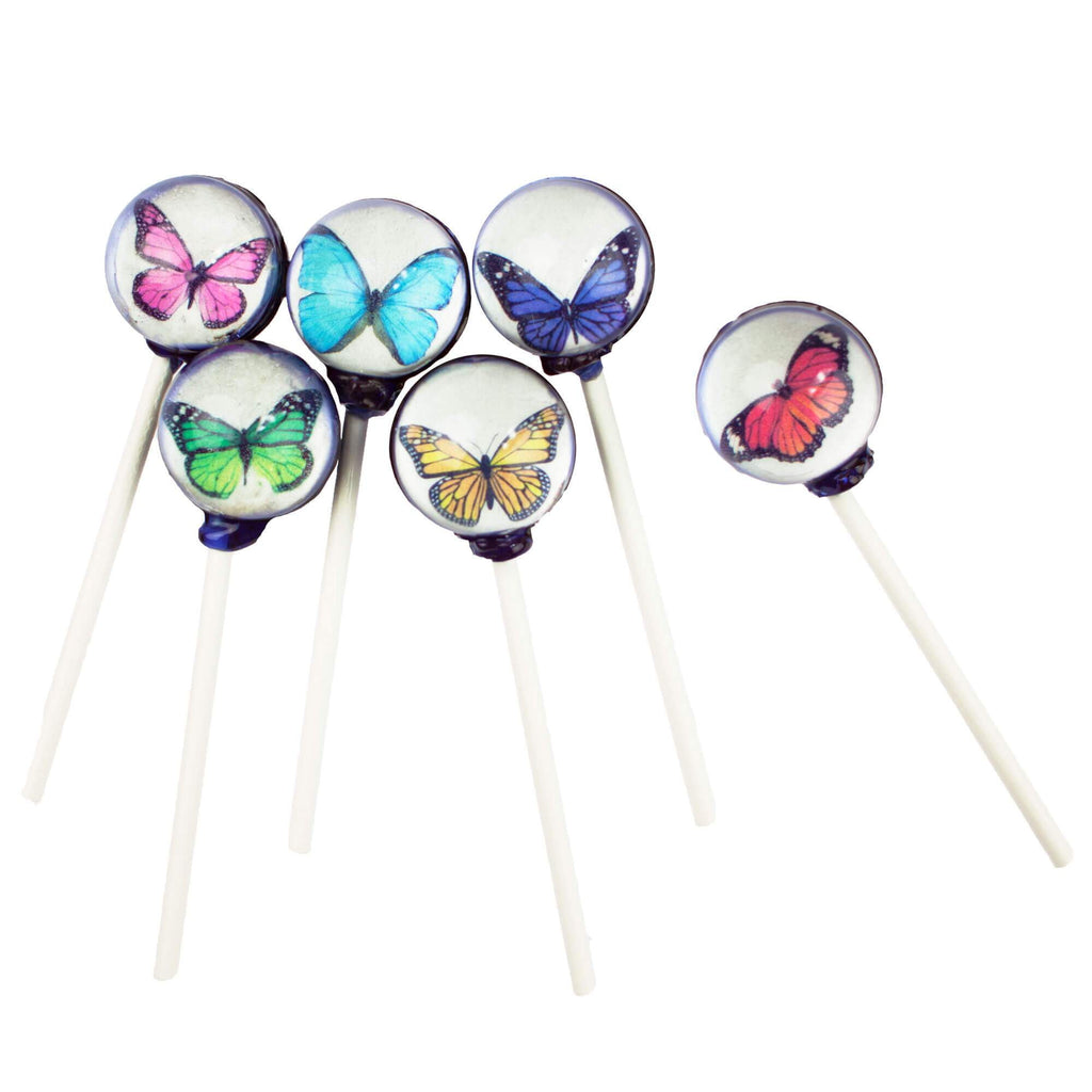 Butterfly Picture Lollipops (10 Pieces) - Sparko Sweets