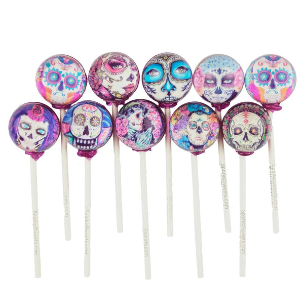 La Catrina Day of the Dead Pixel Pops (10 Pieces)