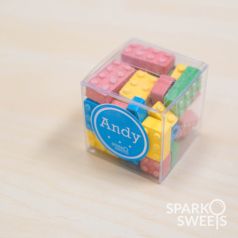 Candy Cube with Custom Labels (4.25 oz.)