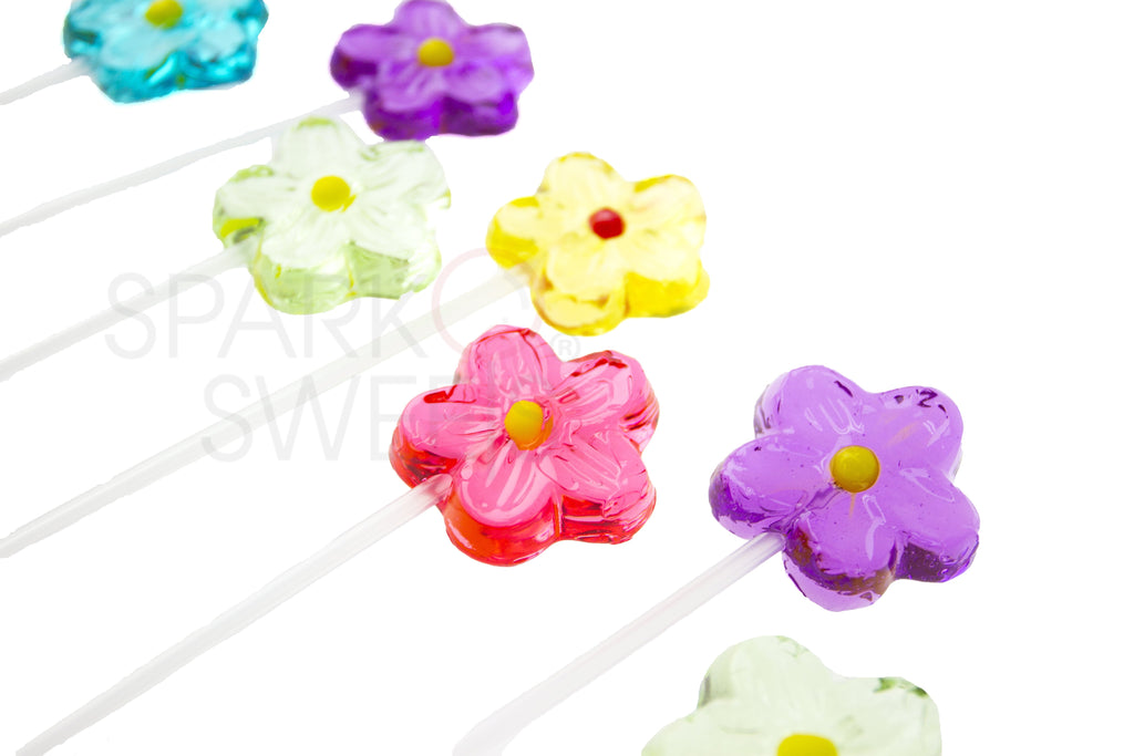 Daisy Lollipops Long-Stem Twinkle Pops (120 Pieces)