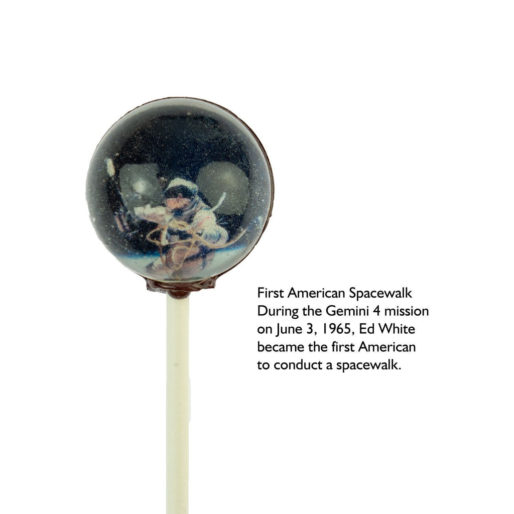 NASA Gemini Mission Universe Lollipops - Sparko Sweets