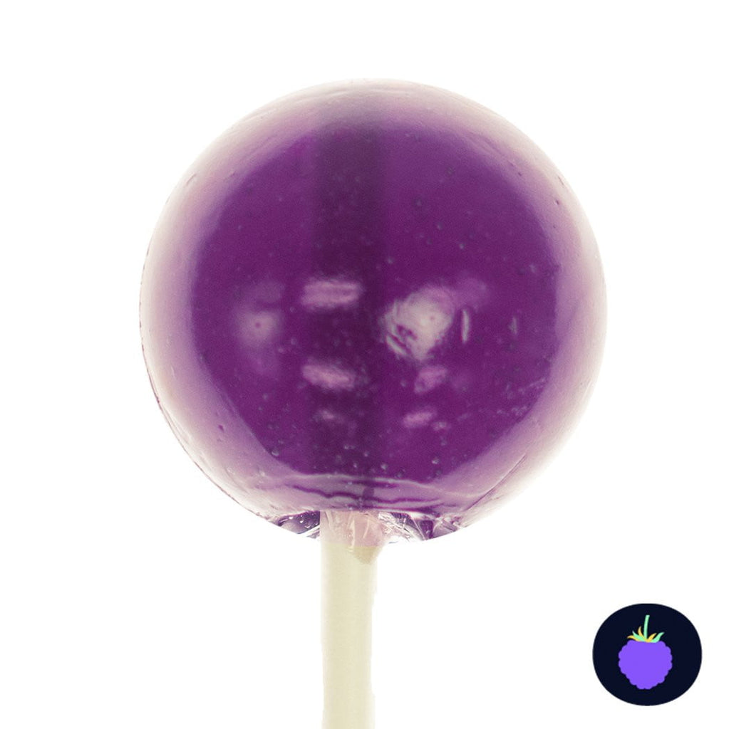Purple Grape Lollipops - Sphere LUSH Pops (36 Pieces) - Sparko Sweets