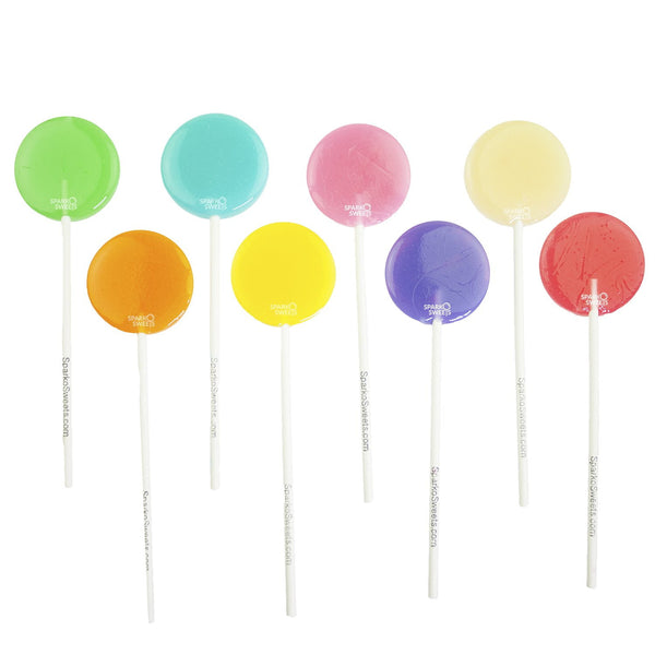Happy Pops Lollipops (12 Pieces)