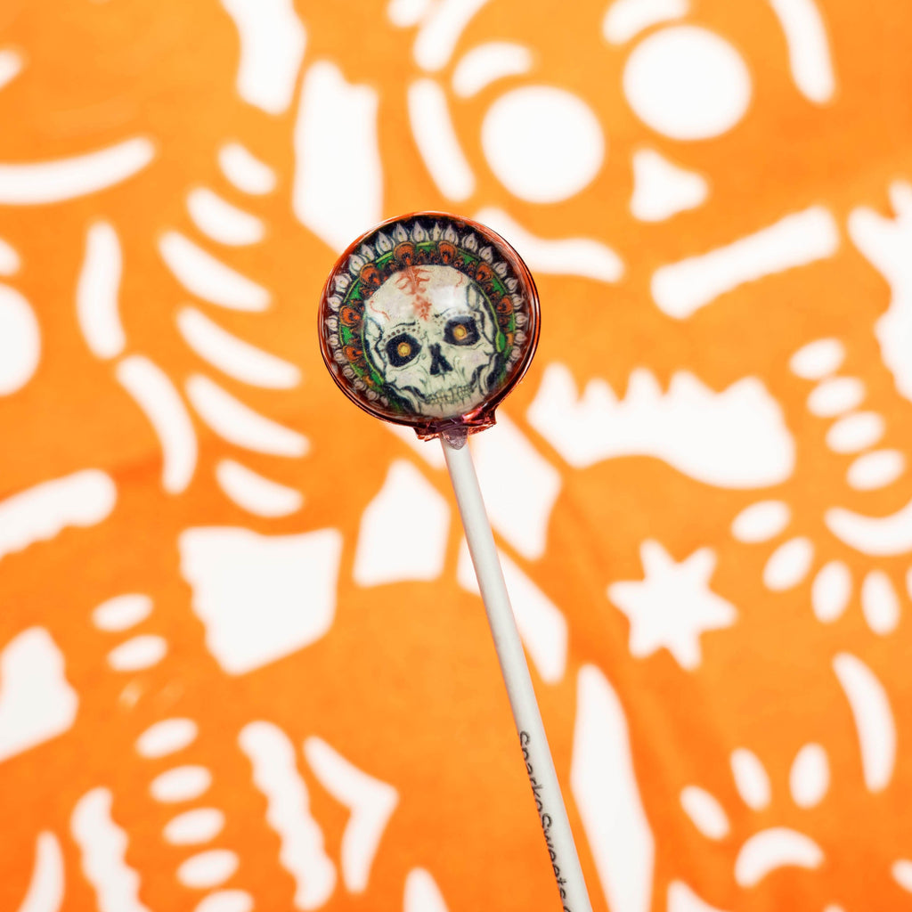 La Catrina Day of the Dead Picture Lollipops (10 Pieces) - Sparko Sweets