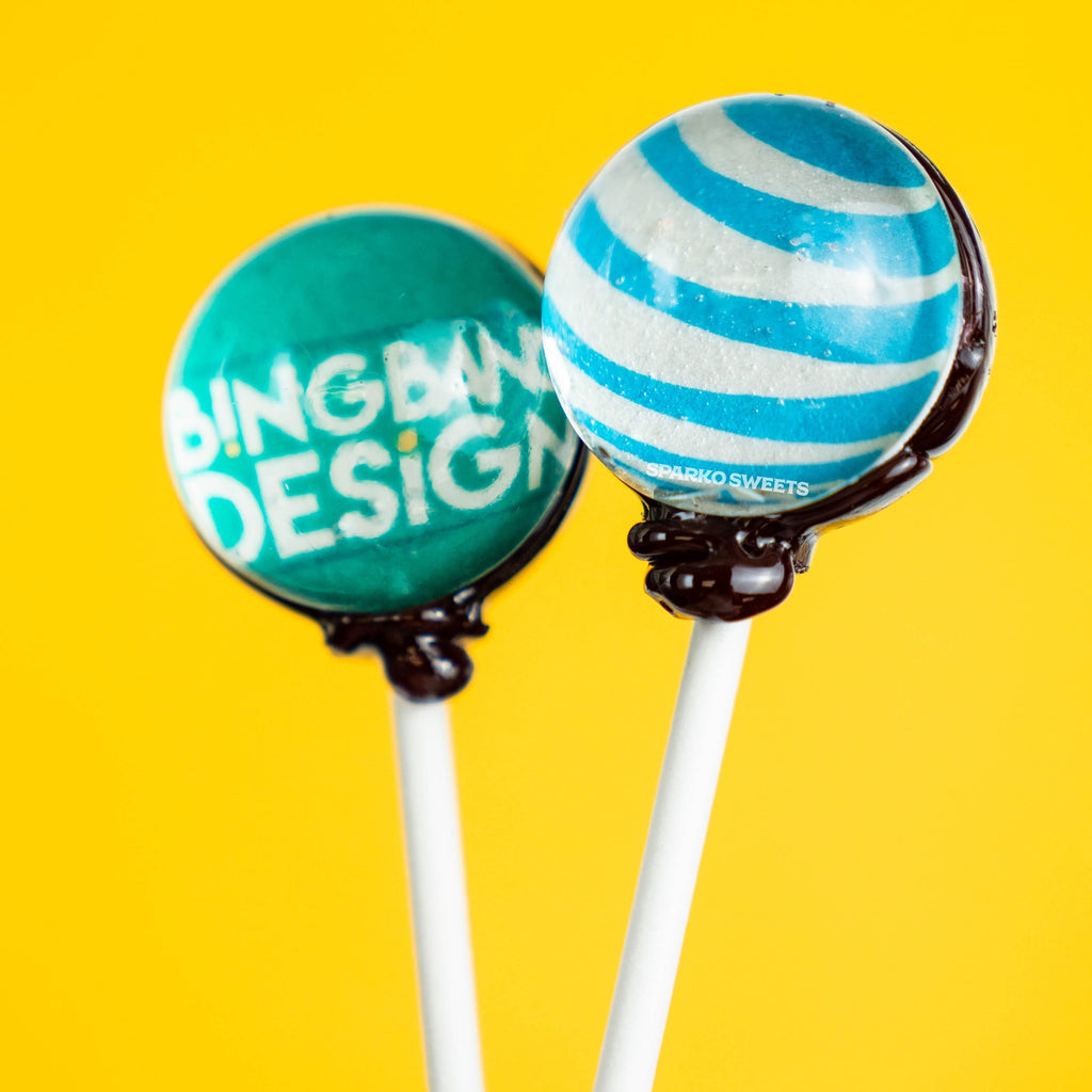 Custom Picture Lollipops - Sparko Sweets