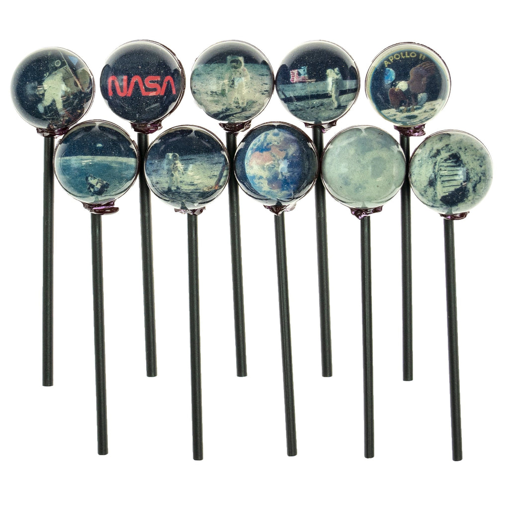 NASA Apollo 11 Moon Mission Universe Lollipops (10 Pieces)
