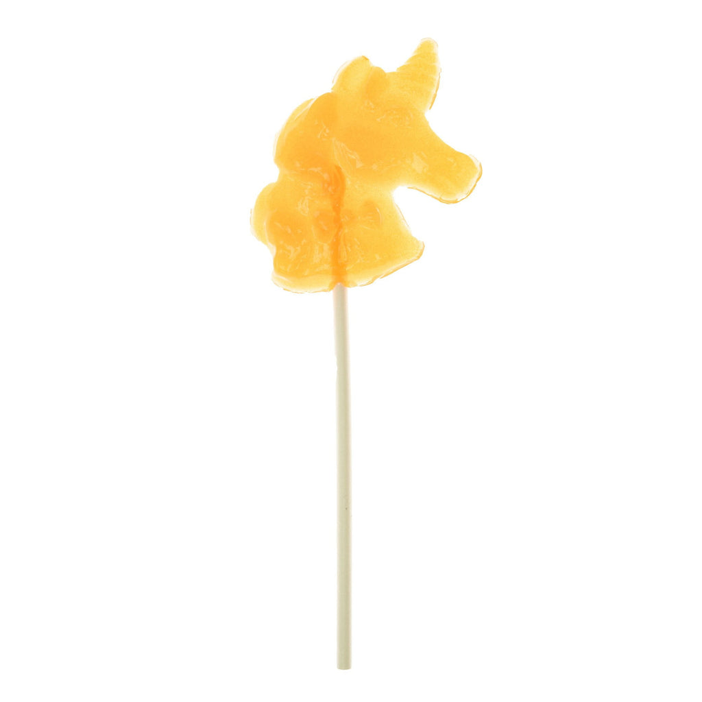 Burnt Orange Unicorn Lollipops - Peach (24 Pieces) - Sparko Sweets