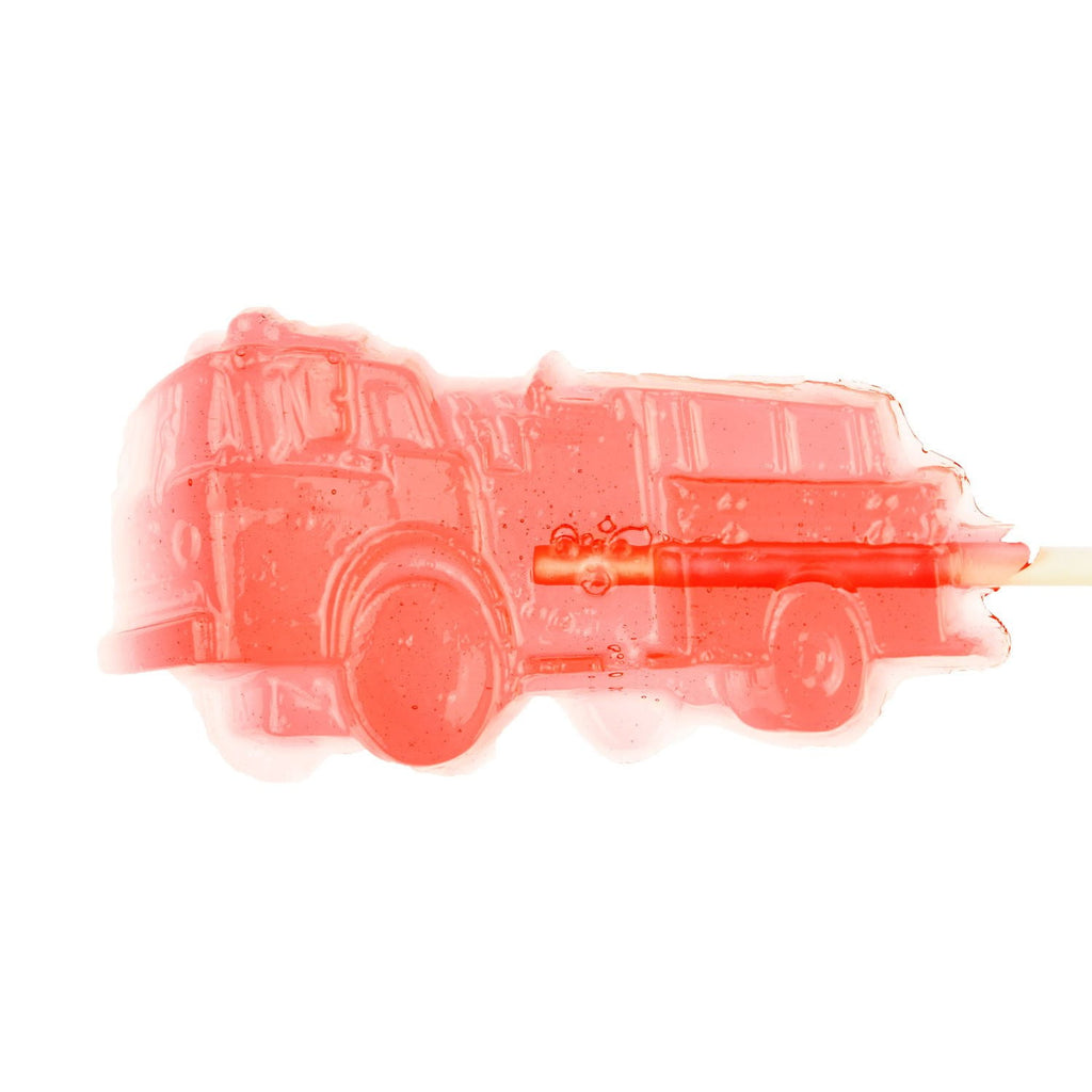 Watermelon Red Firetruck Lollipops (12 Pieces) - Sparko Sweets