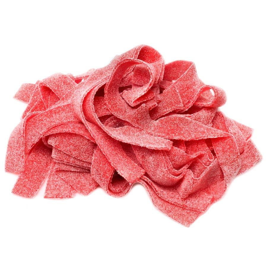 Watermelon Sour Belts (1 lb.) - Sparko Sweets