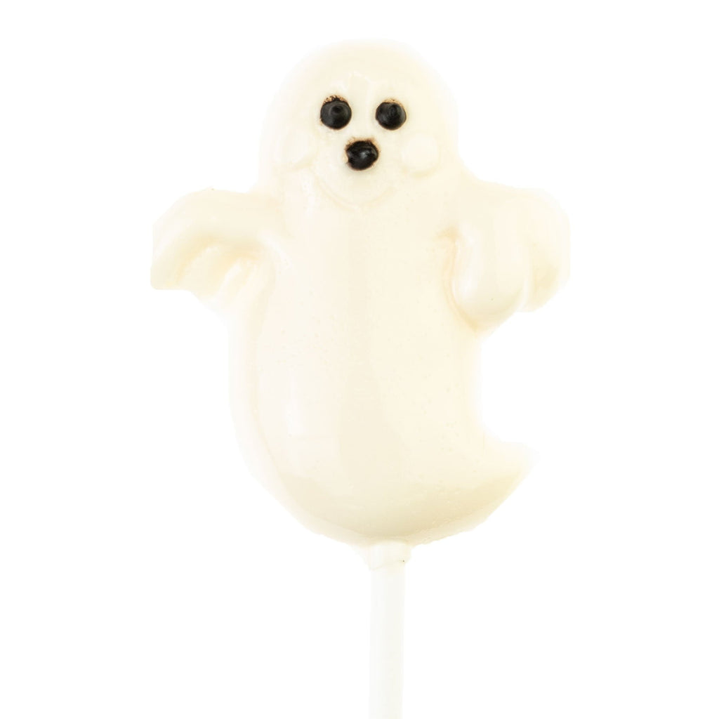 White Ghost Lollipops Halloween Party Favors