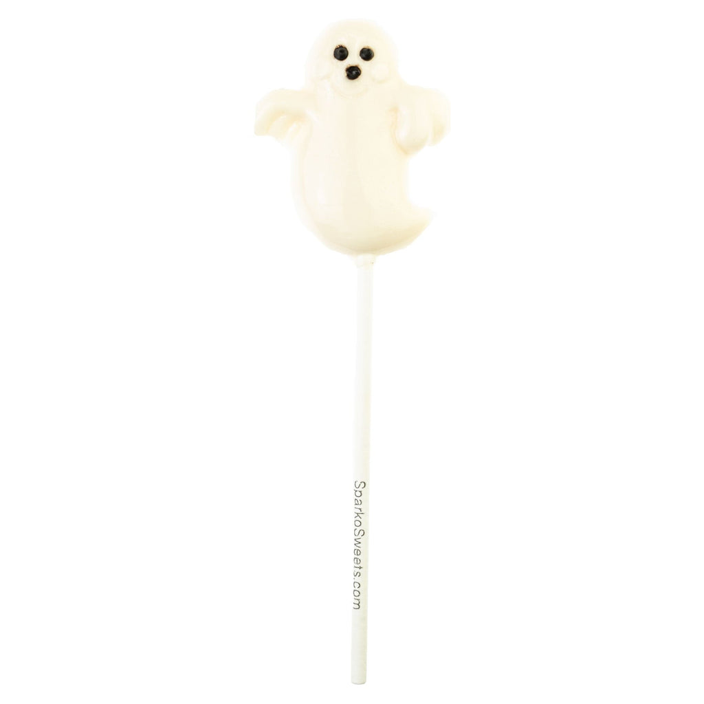 White Ghost Lollipops (24 Pieces) - Sparko Sweets